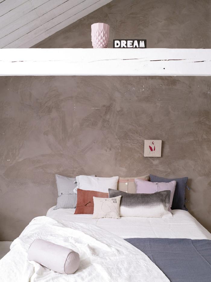 dekbed bed romantisch stoer