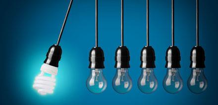 gloeilamp versus spaarlamp