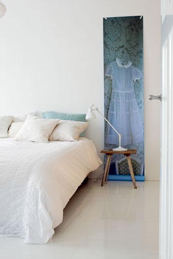 bed behangpaneel