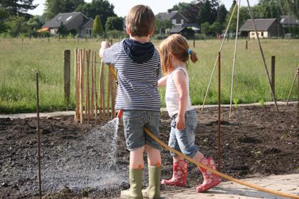 tuinieren met kinderen eige