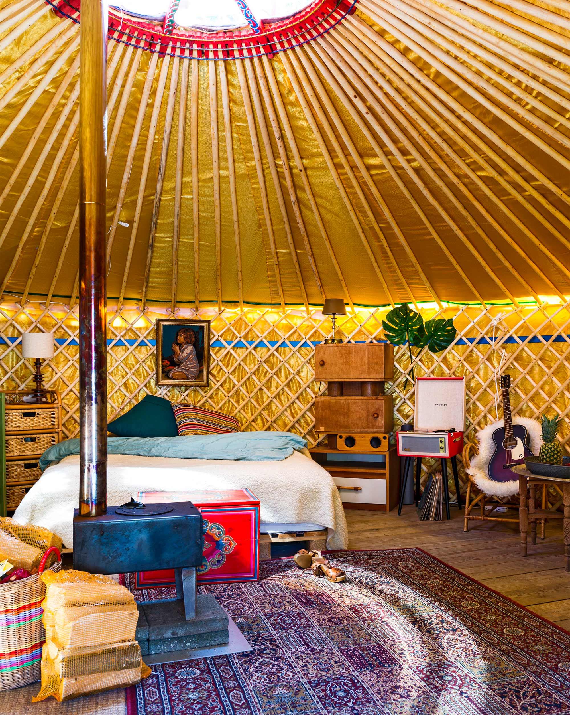 kamperen yurt