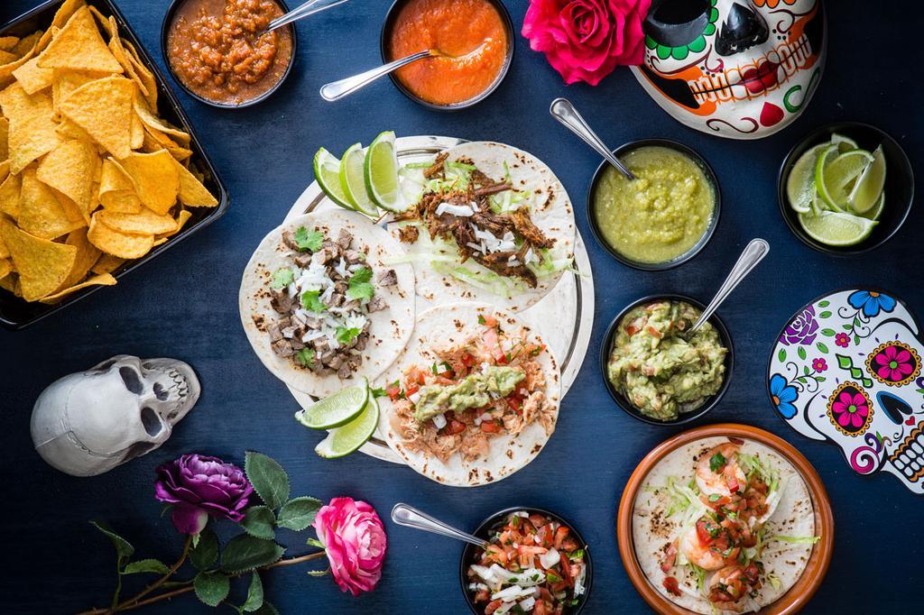 Gerechten van Dia de los tacos in Antwerpen
