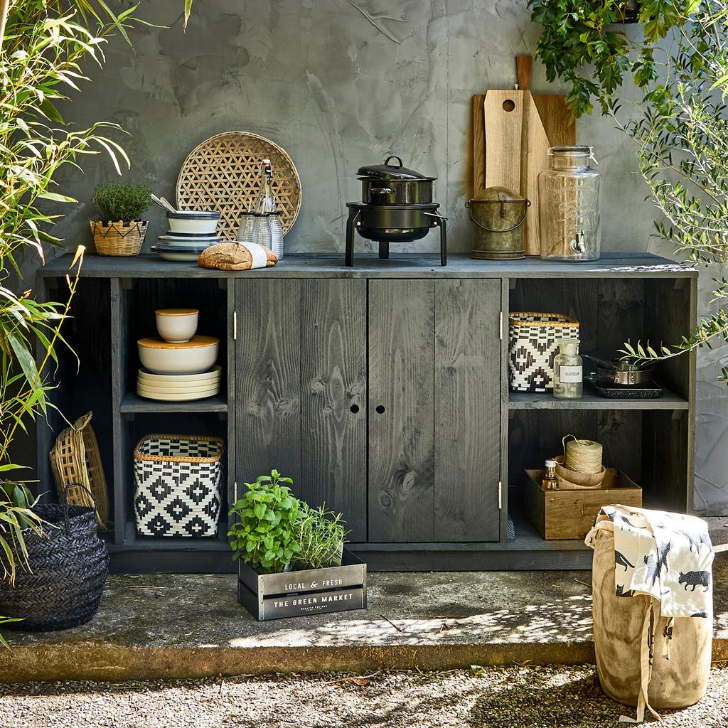 Maak de ideale buitenkeuken met deze 3 DIY's | vtwonen