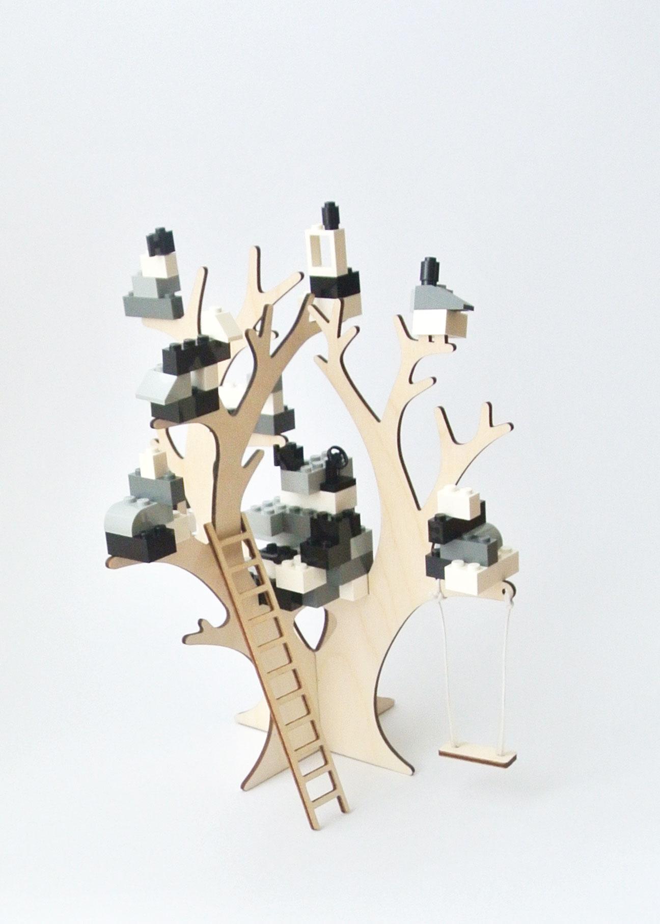 houten boom LEGO Brikkon