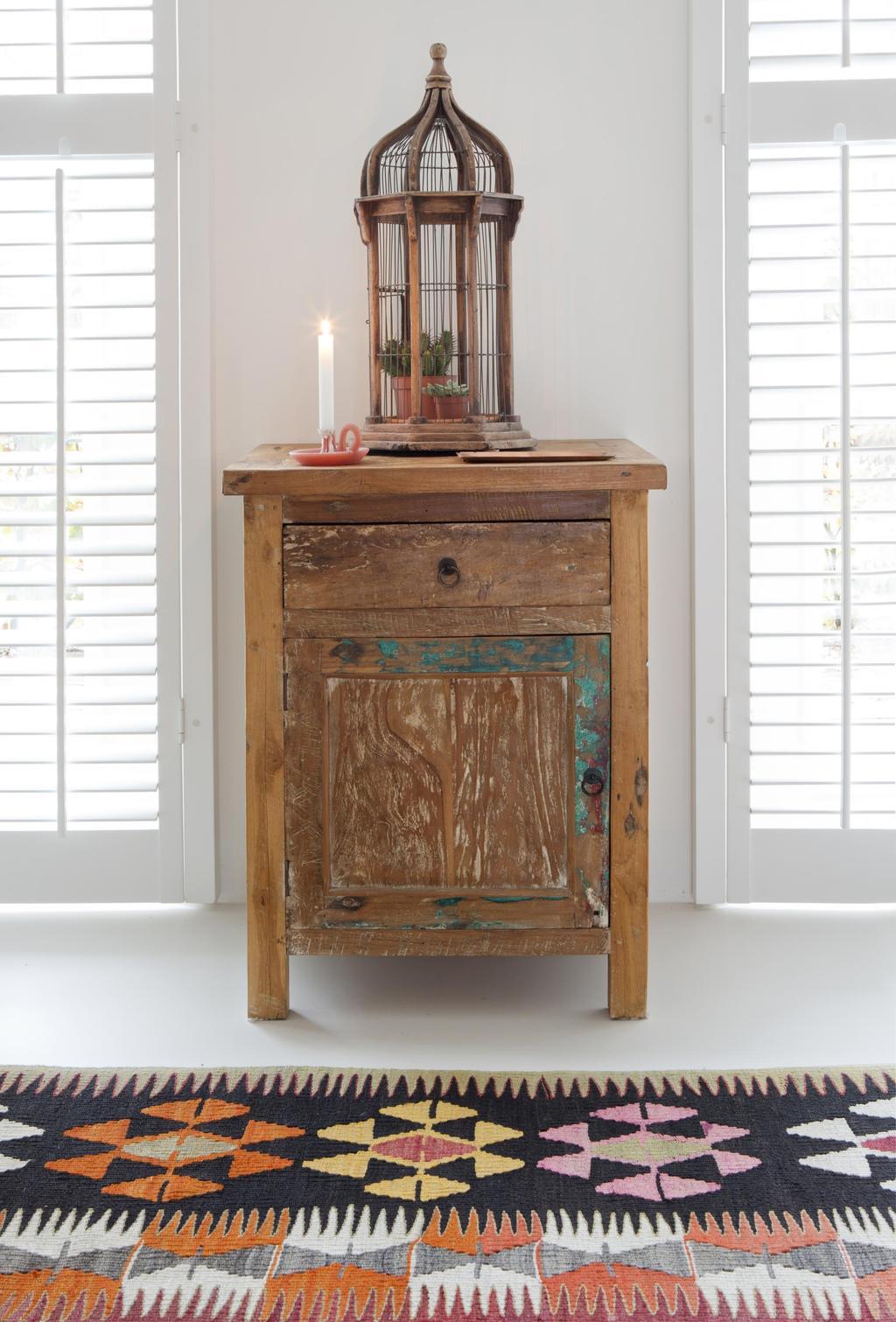Vintage houten kastje