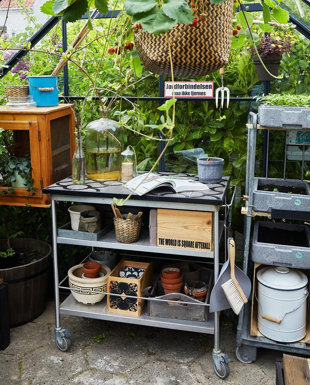 vtwonen tuin special 1 | werkplaats in de kas Kopenhagen