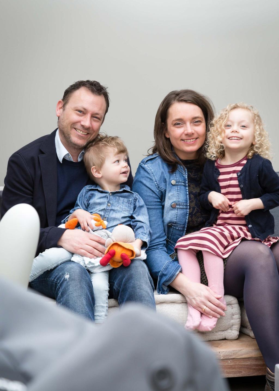 Portretfoto van het gezin uit Oostzaan in aflevering 6