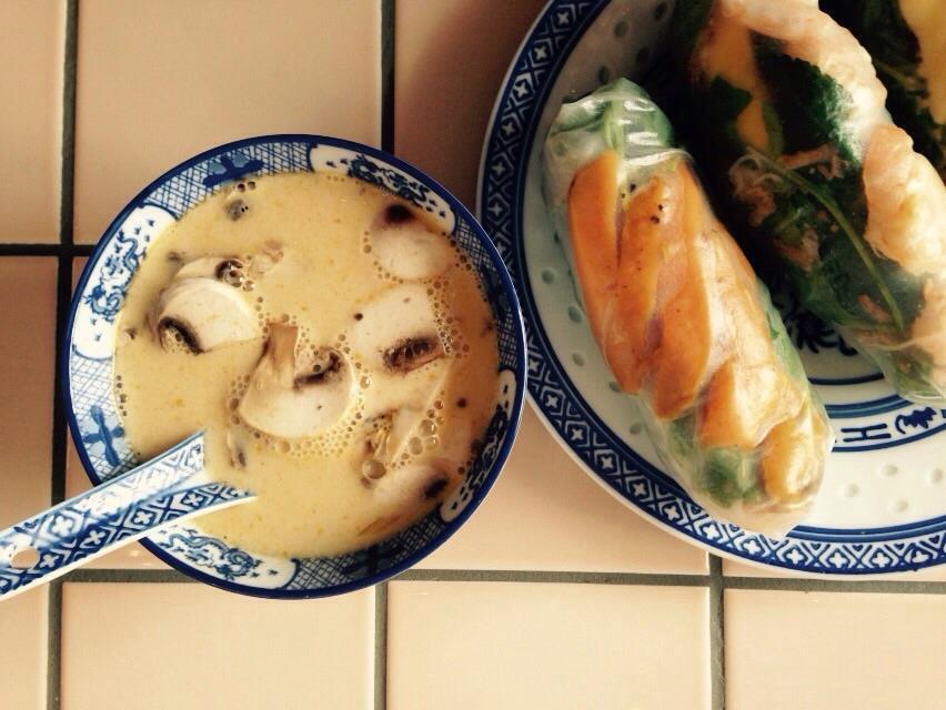 rice paper rolls brussel