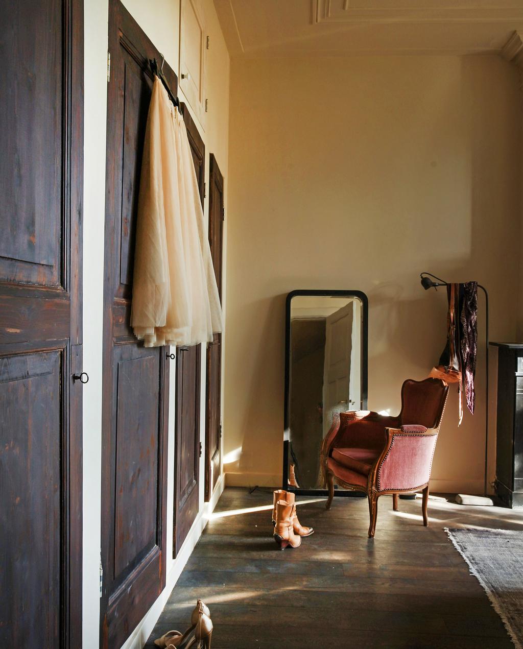 kleedkamer slaapkamer