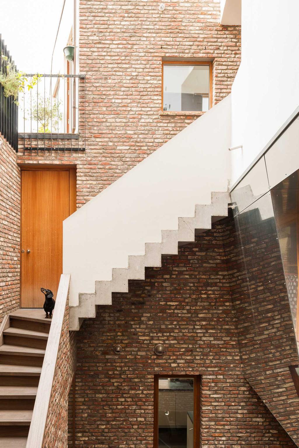 patio escalier