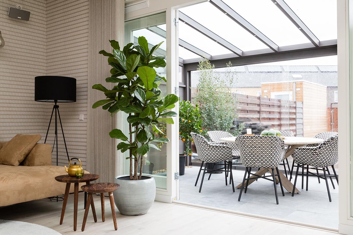 veranda tuinkamer glazen dak Verasol