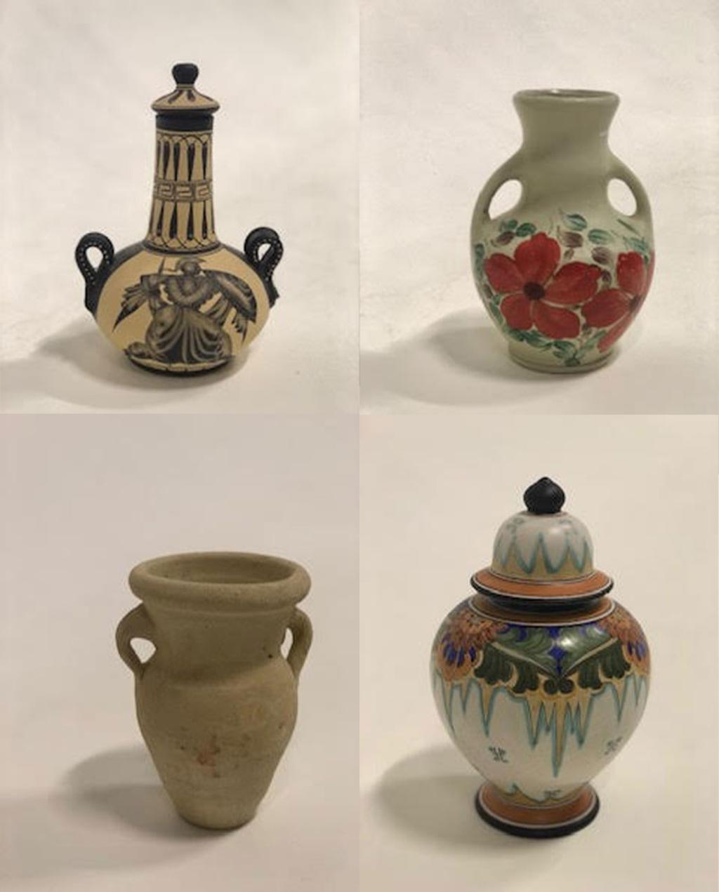 vasos de segunda mão