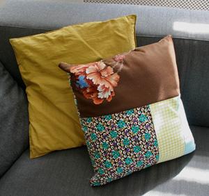patchwork kussen