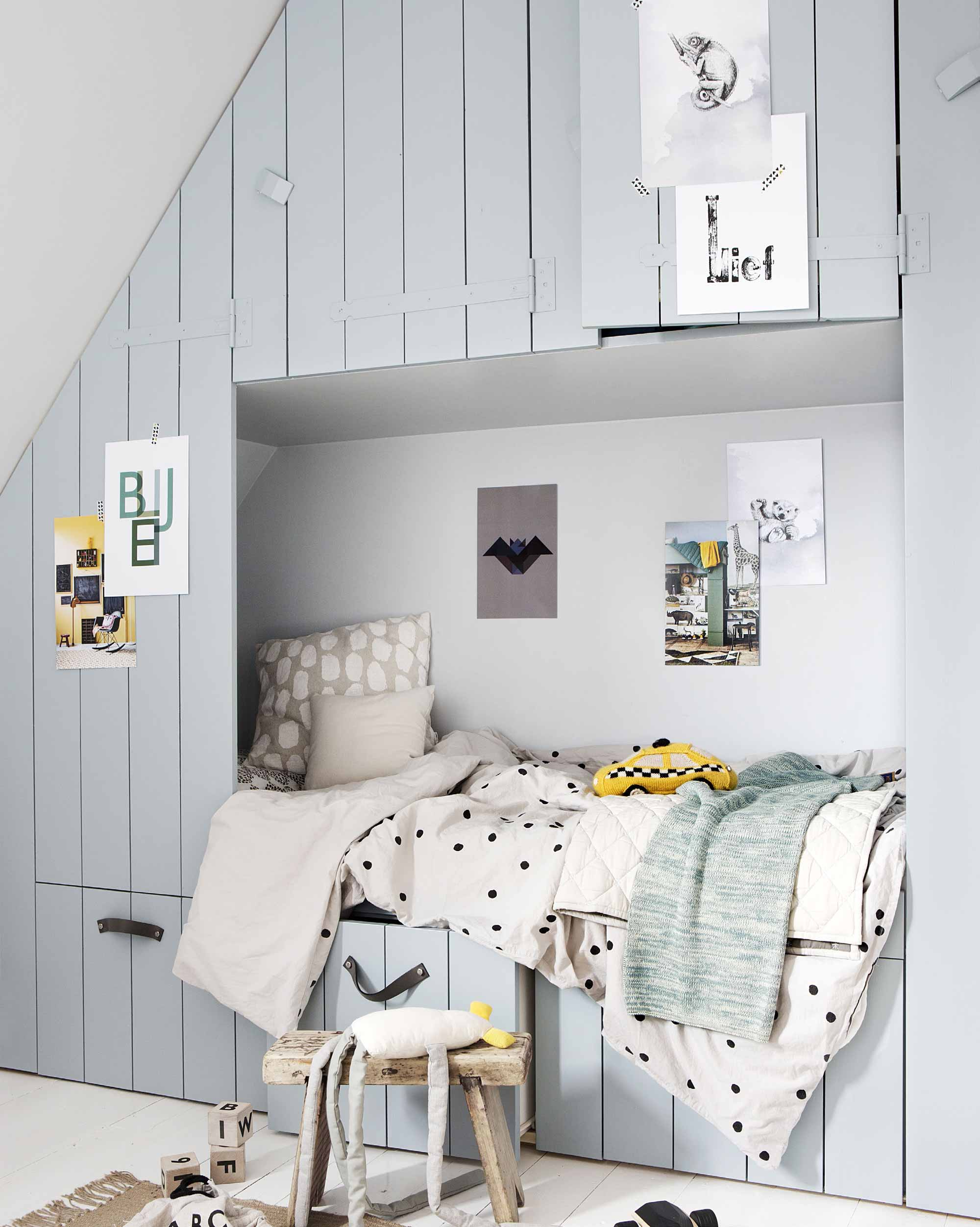 DIY - Kinderkamer - Bedstede - Posterboek
