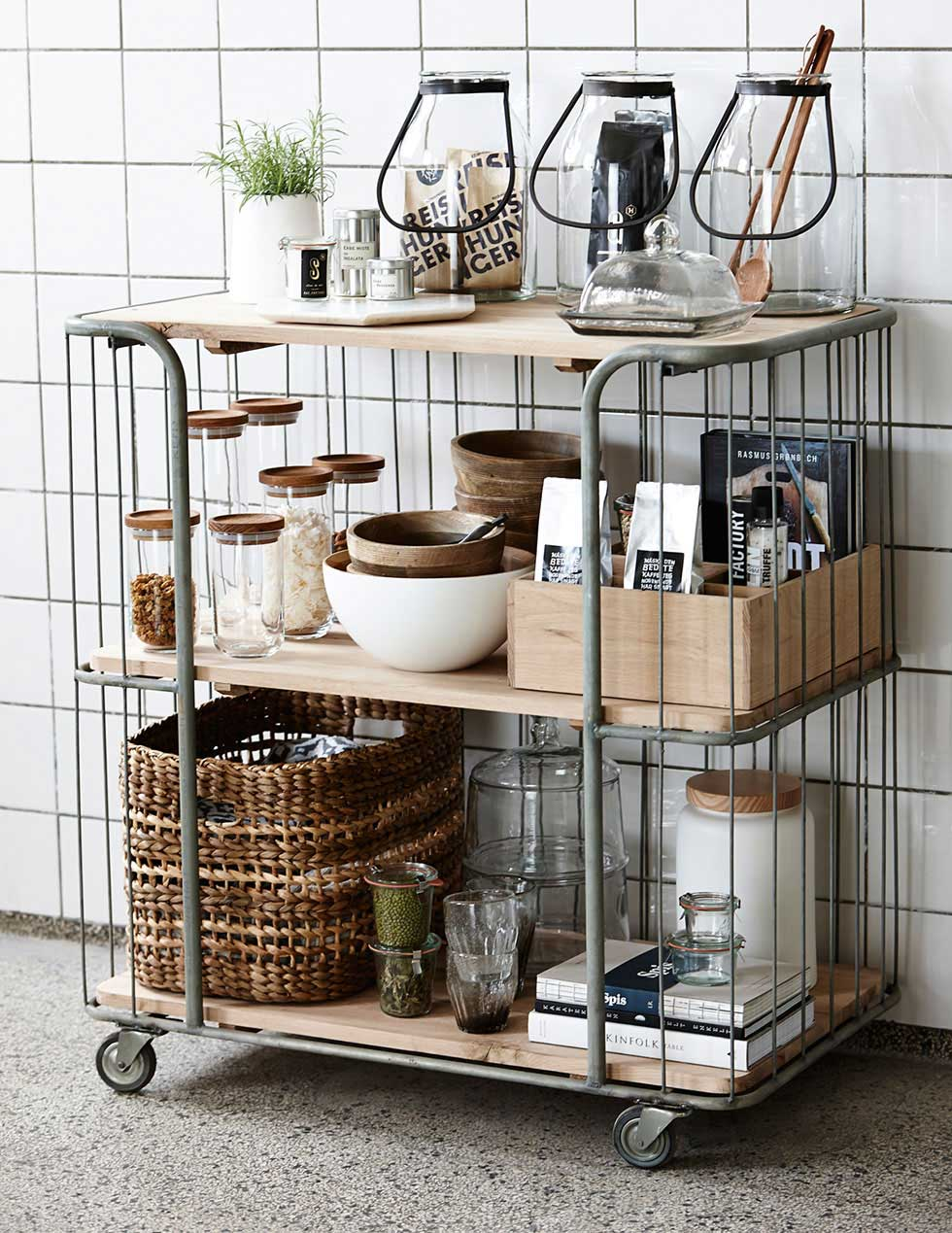 Mijn woonwens: een keukentrolley in de keuken