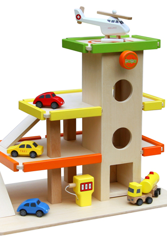 bouwtekening speelgoedgarage