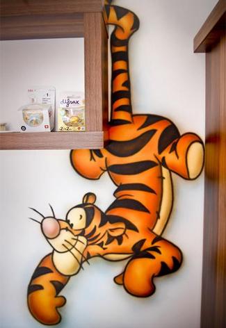 Kinderkamer tijgertje