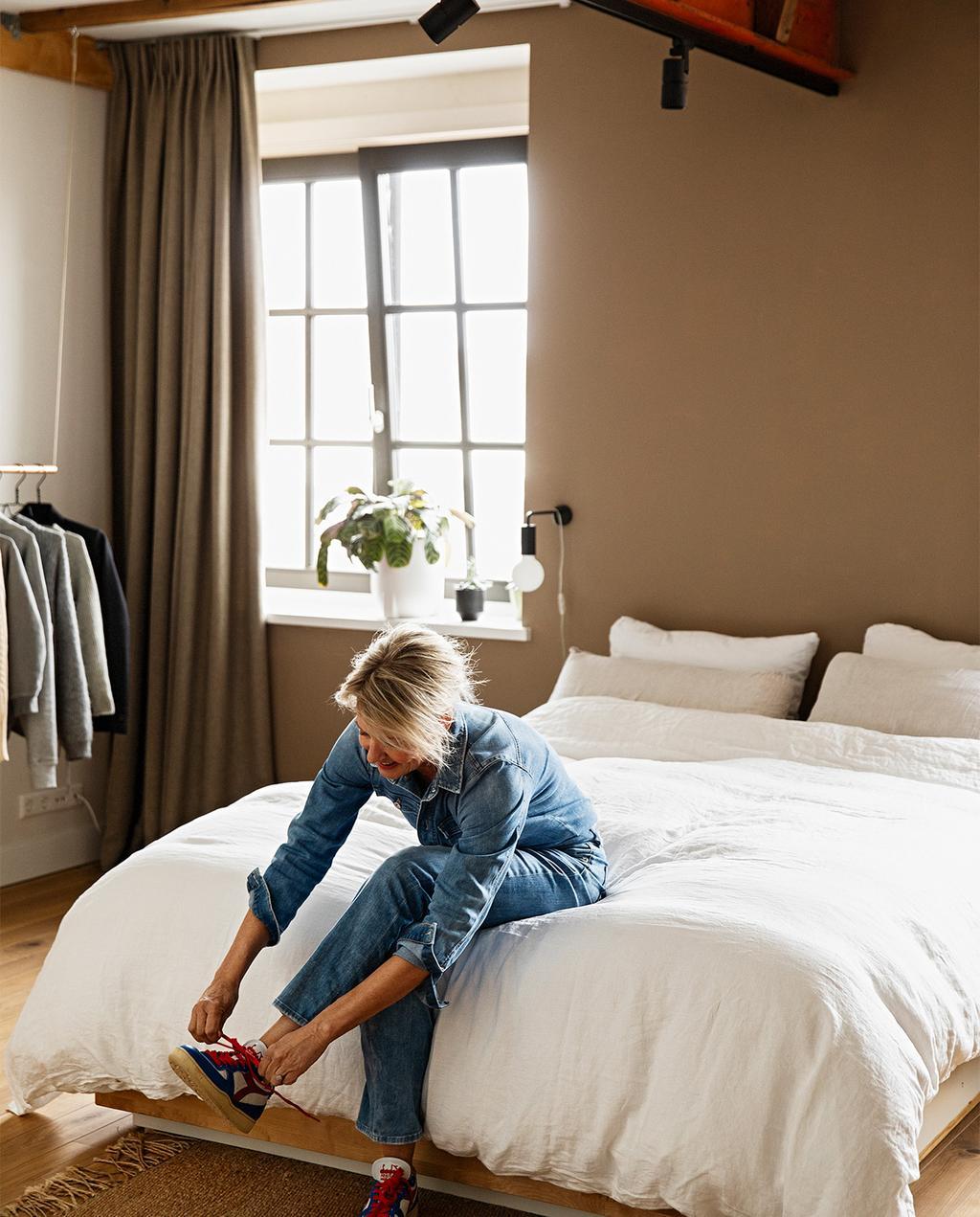 vtwonen 08-2021 | slaapkamer met wit dekbedovertrek