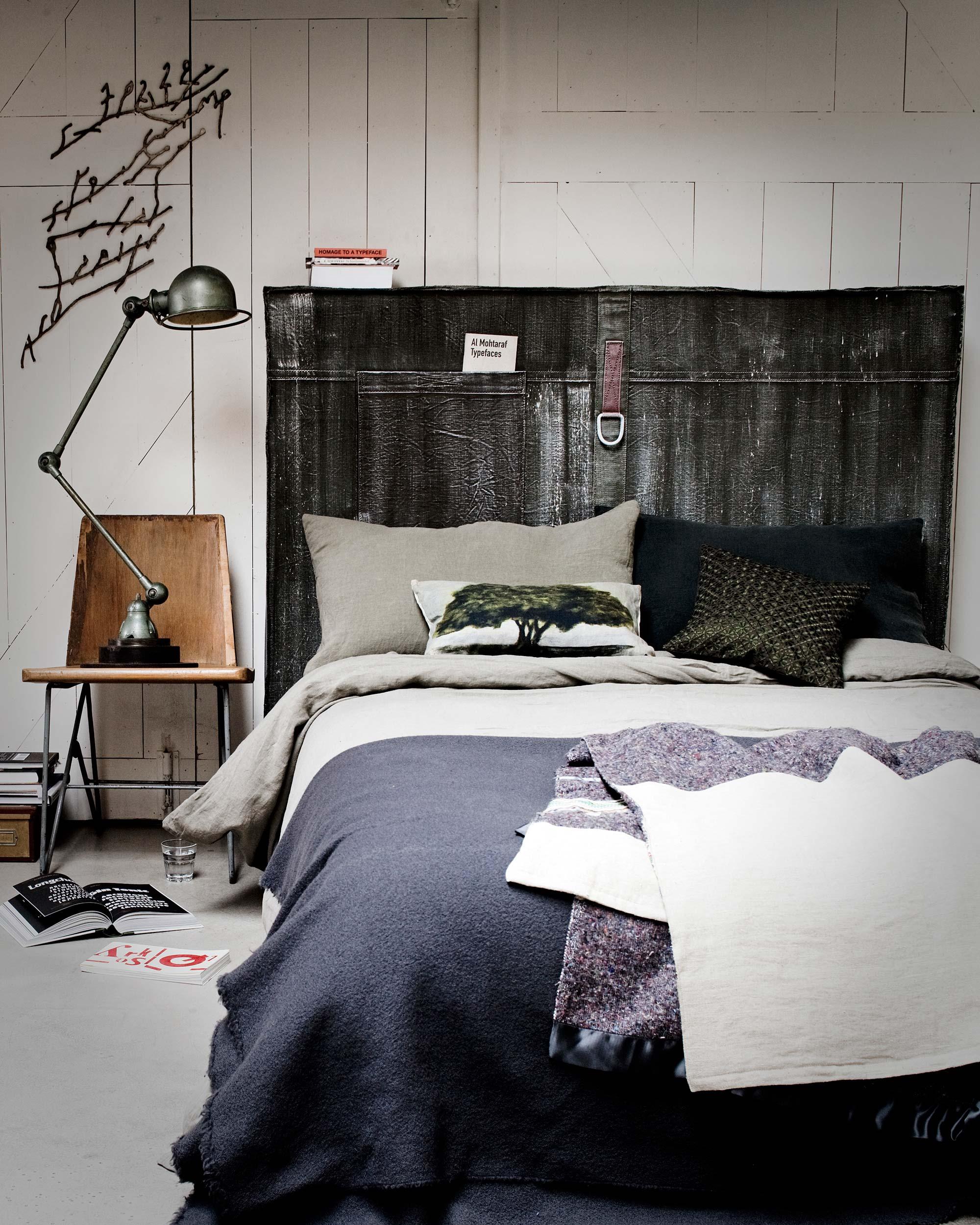 slaapkamer blauwtinten