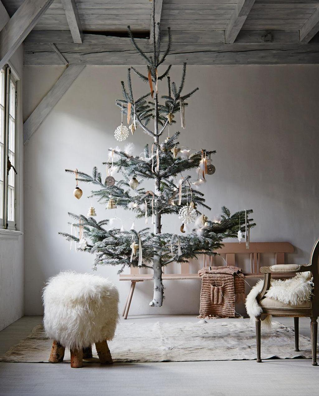 Zwevende kerstboom