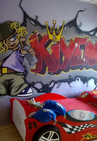 Graffiti letters maken
