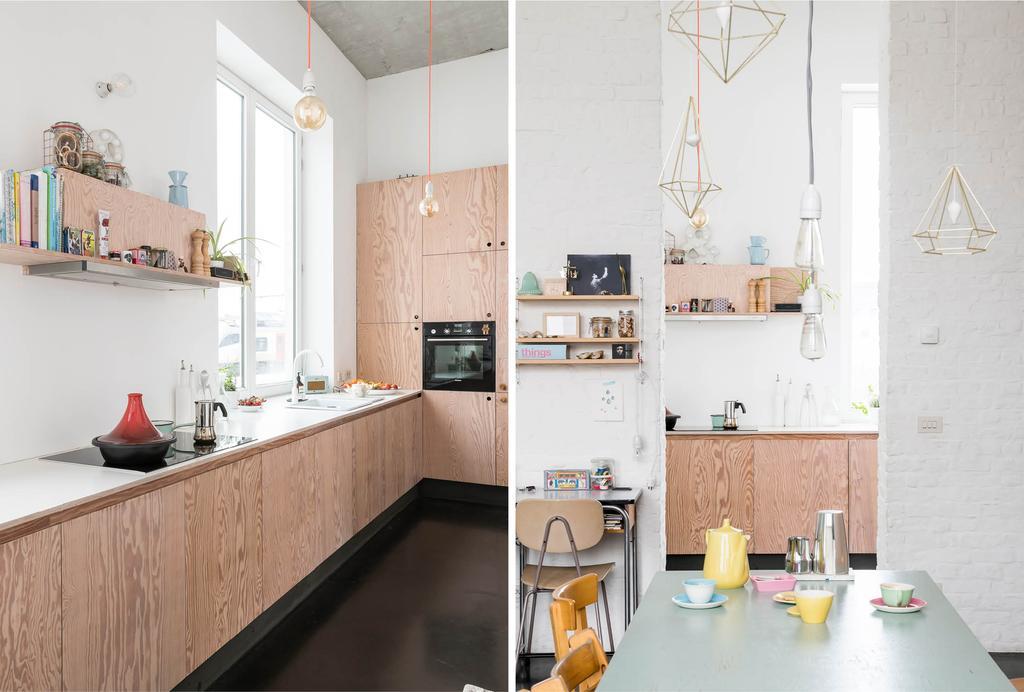 binnenkijken loft in Gent keuken