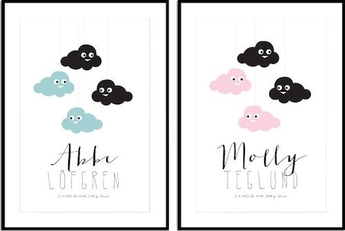 Prints voor de kinderkamer