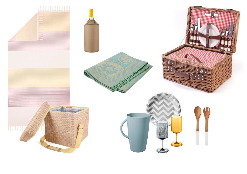 Producten uit de vtwonen shop voor een picknick
