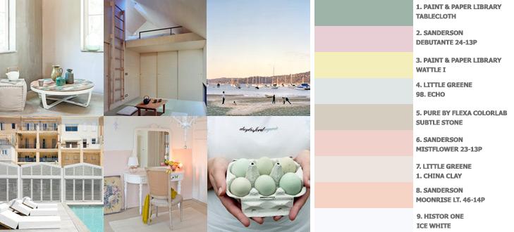 Kleurtrend Dusty Boulevard (lente/zomer 2011) - romantische kleuren