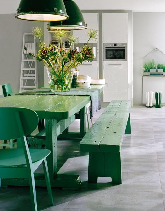 De kleur van 2013: Emerald groen!