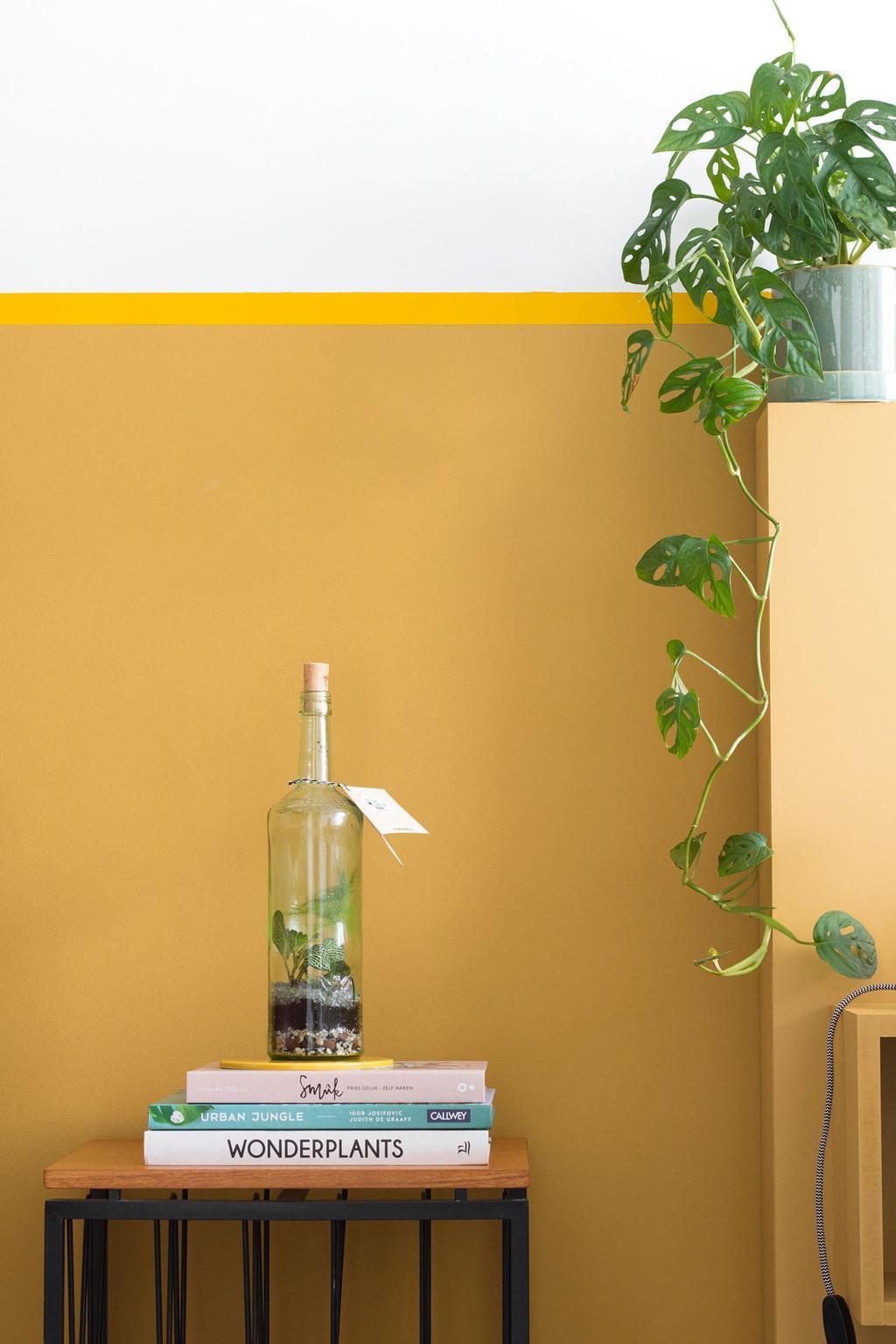 The Green Bar voor gele lambrisering