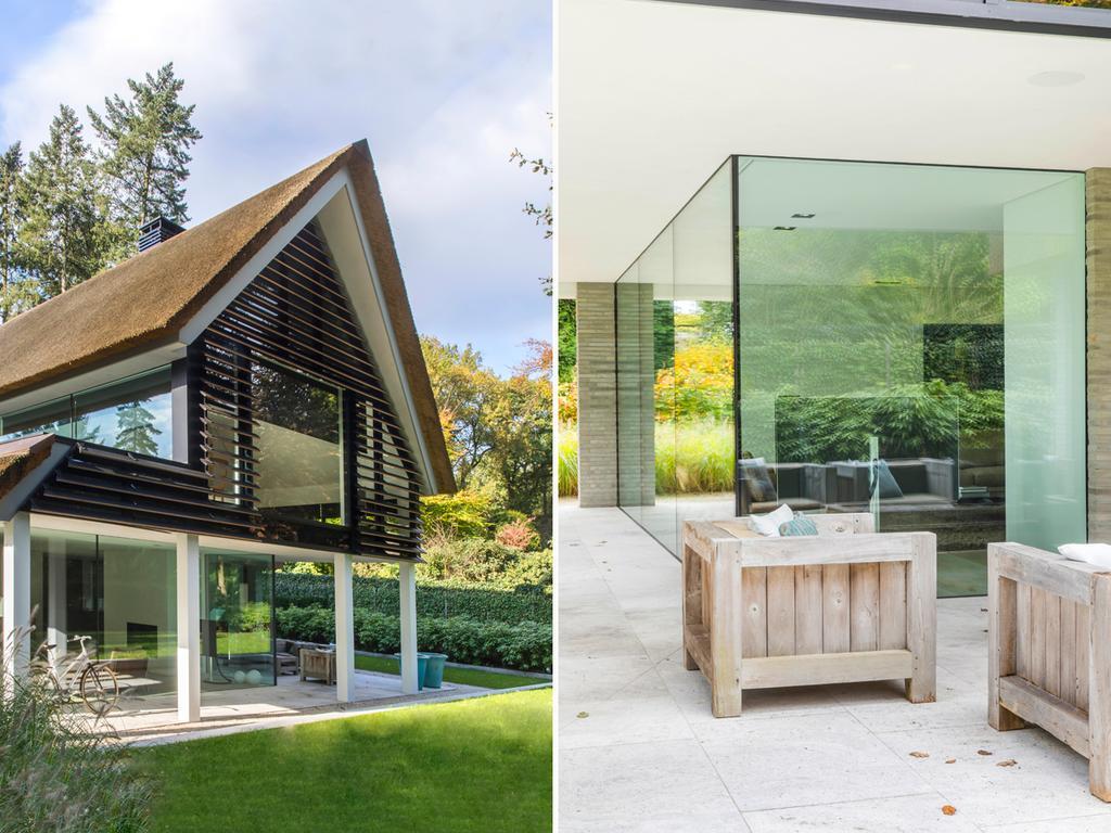 2 extérieur ferme en bois et maison