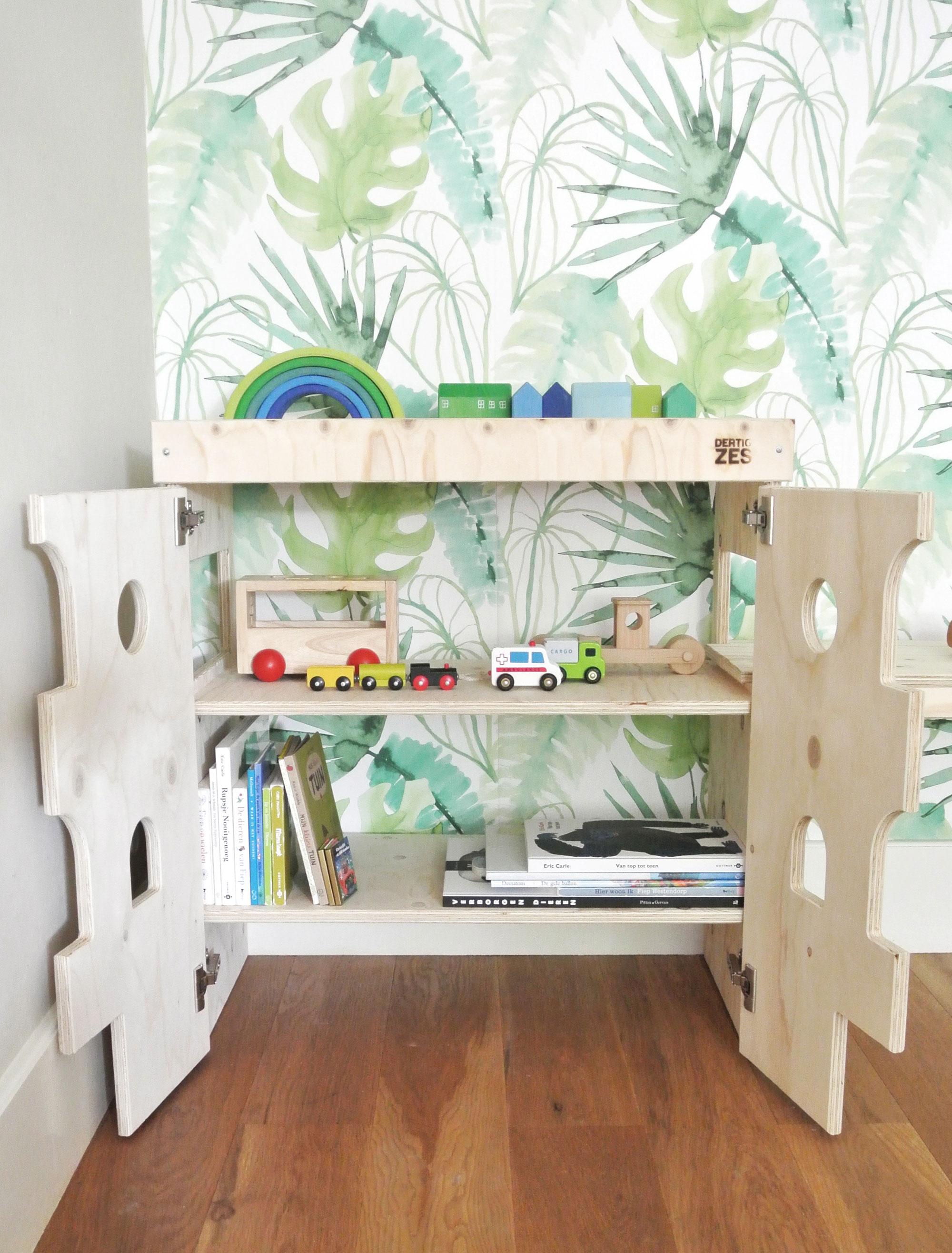 DertigZes speelgoed stijlvol opbergen in de woonkamer