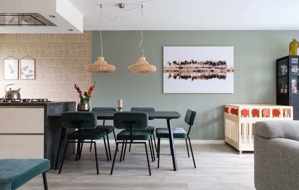 vtwonen weer verliefd op je huis | seizoen 11 aflevering 3 | fotografie Barbara Kieboom | styling Fietje Bruijn | eethoek