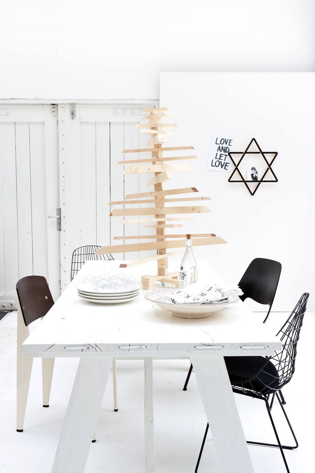 houten-kerstboom