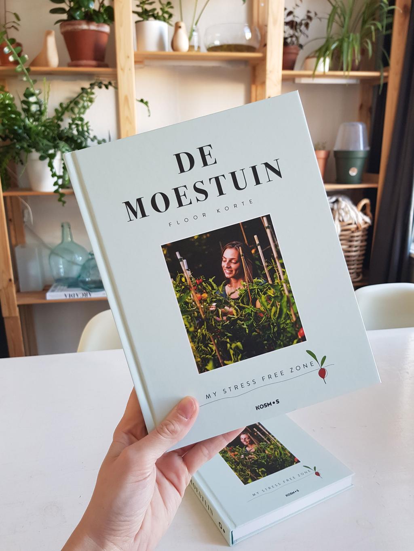 Boek 'De Moestuin' van blogger Floors Moestuin