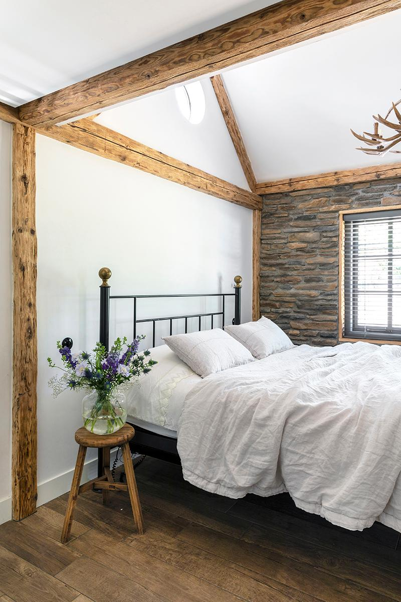 bloemen slaapkamer van harten interieur & styling