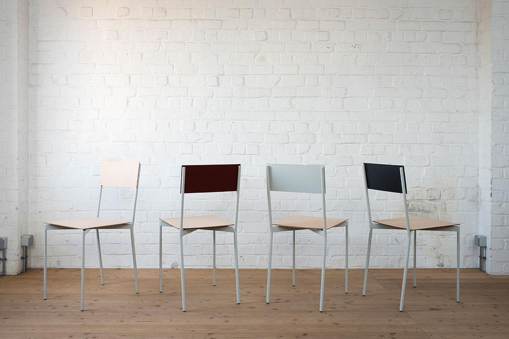 Stoelen gemaakt door Belgisch designtalent vormen