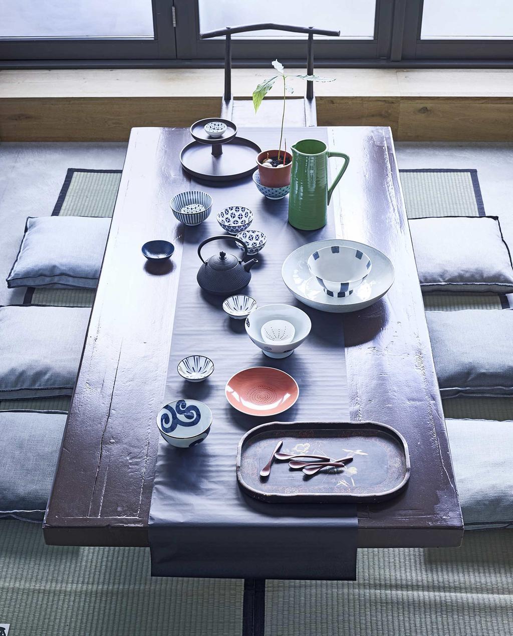 vtwonen 05-2016 | tafel met servies, style Japan