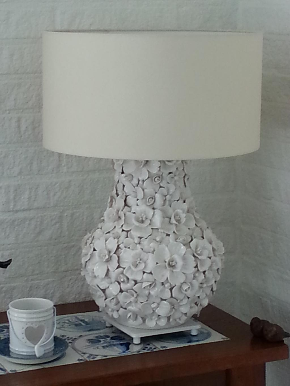 lamp van een vaas
