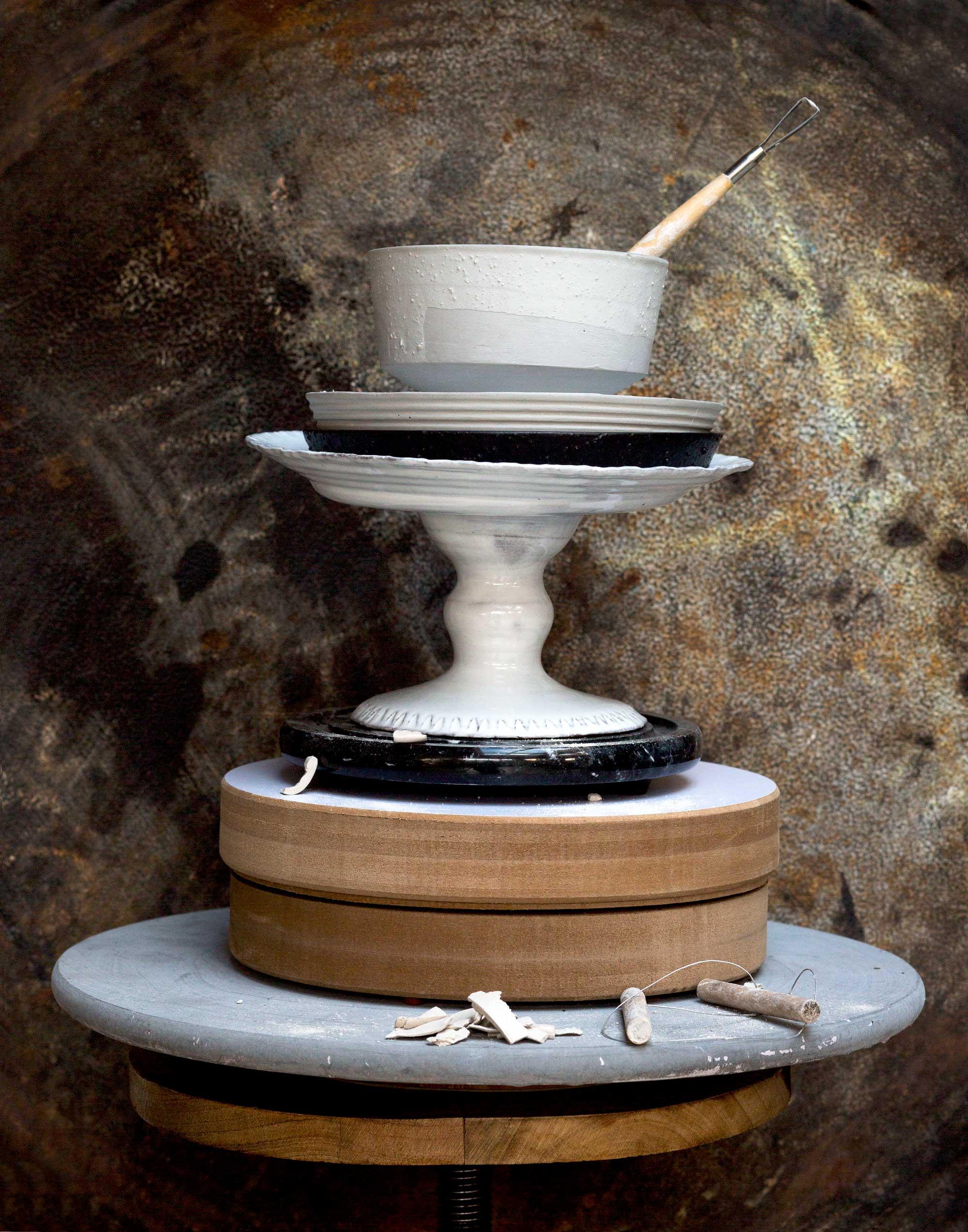 draaischijf met keramiek