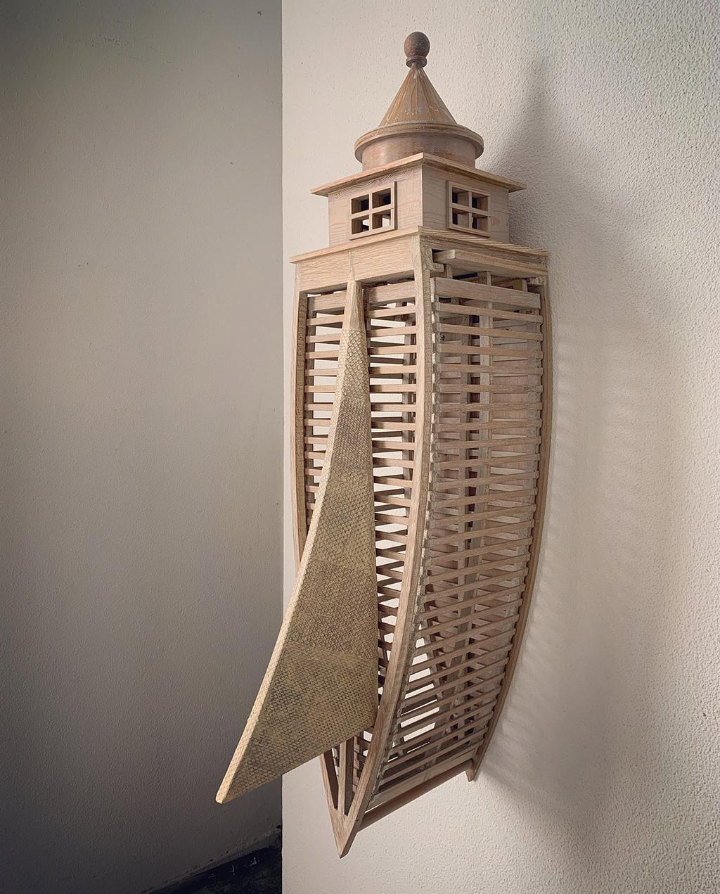vtwonen 09-2020 | 3d toren kunstwerk van Bisou Gallery
