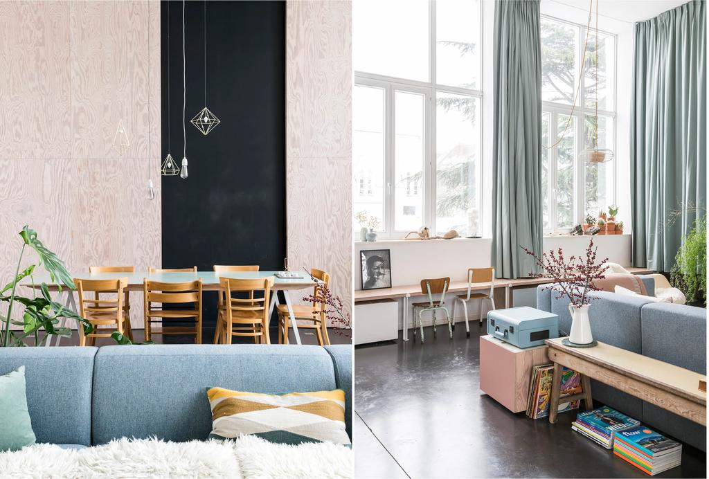 binnenkijken loft in Gent woonkamer