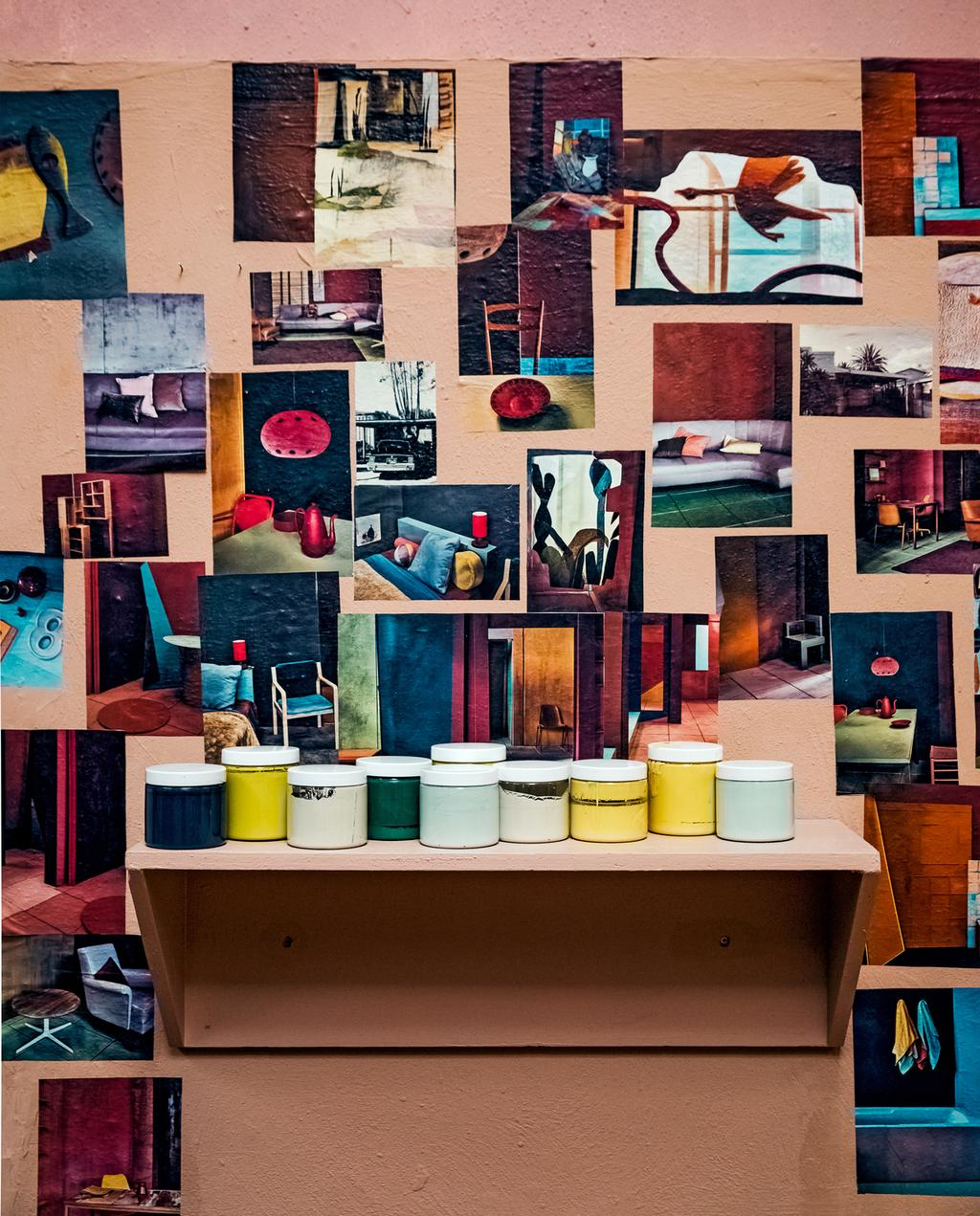vtwonen 10-2019 | Ambacht Frank atelier posterwand
