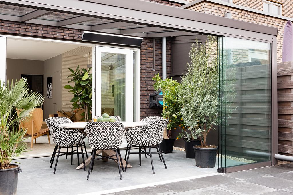 veranda tuinkamer open pui Verasol