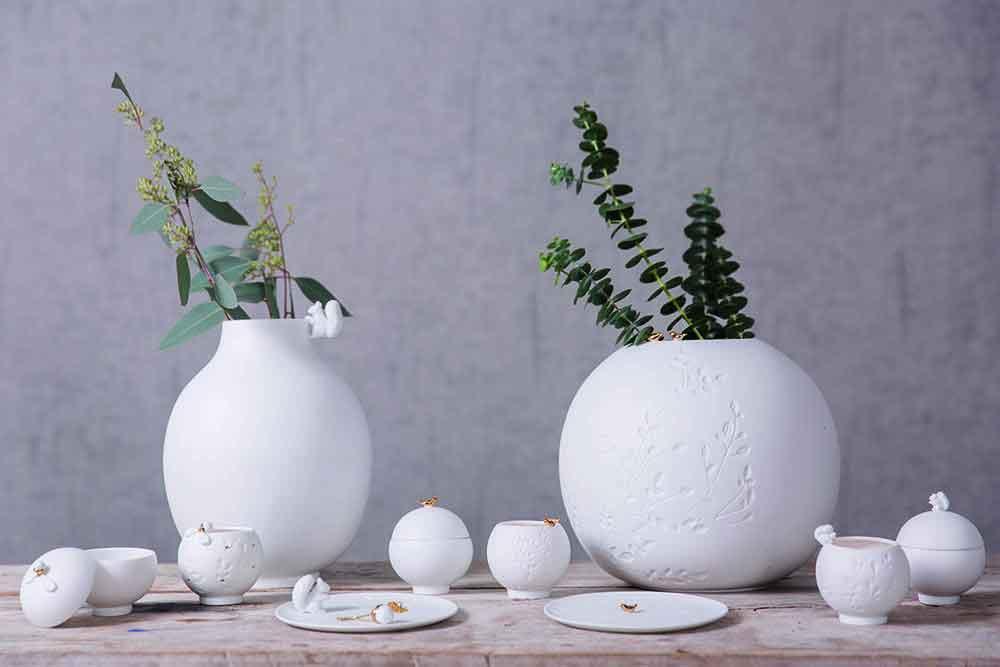 Witte vaas: eenvoudig mooi - Rader - vtwonen
