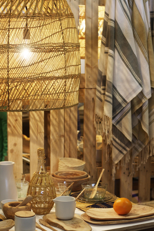 Bamboe lamp Maison et Objet