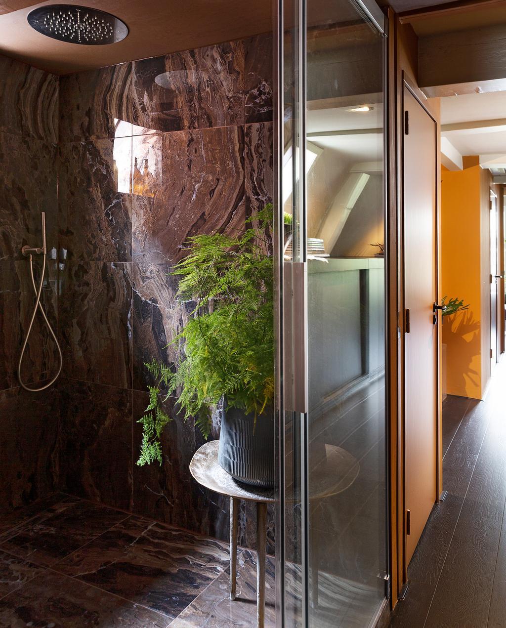 glazen douchewand badkamer
