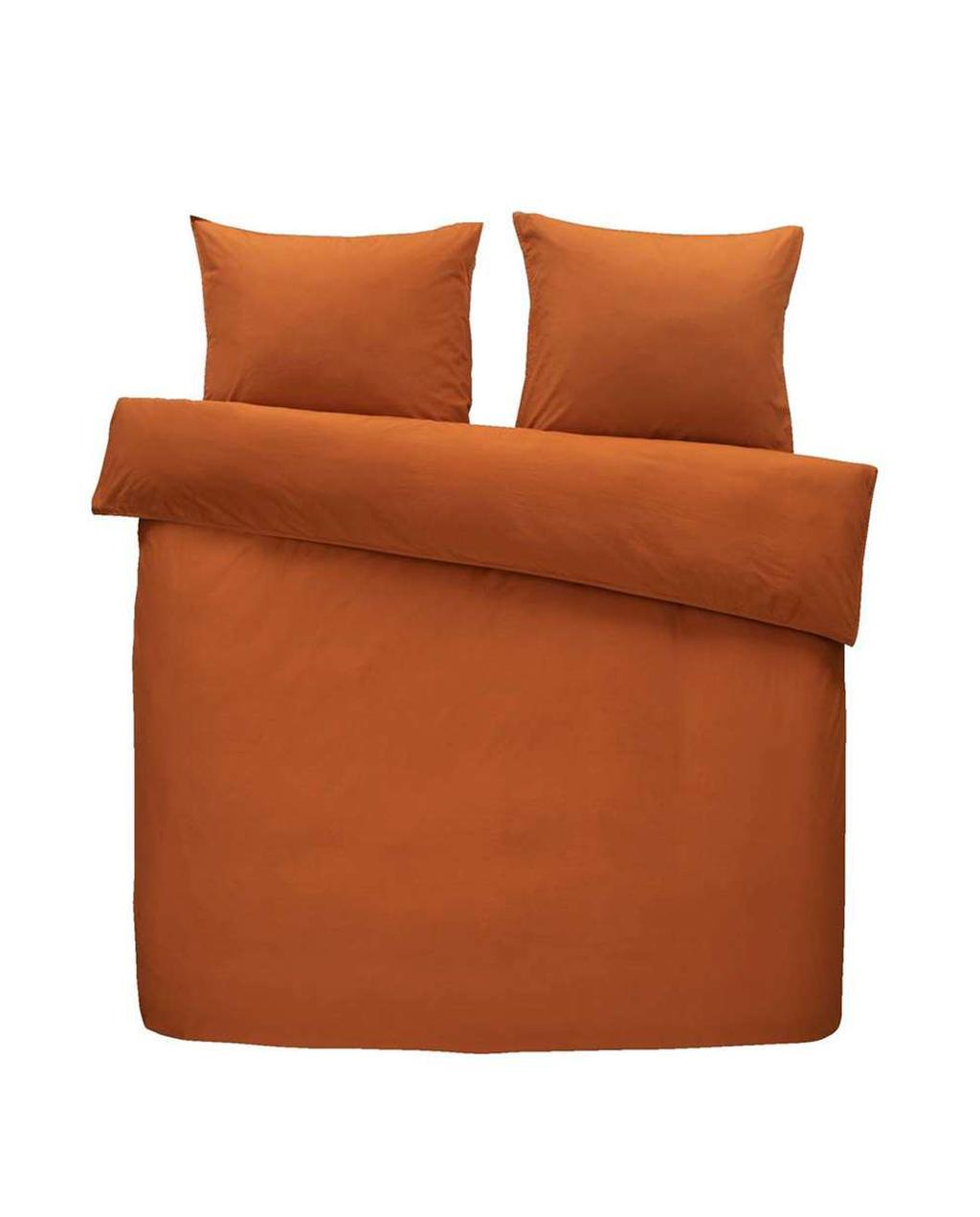 Dekbedovertrek oranje
