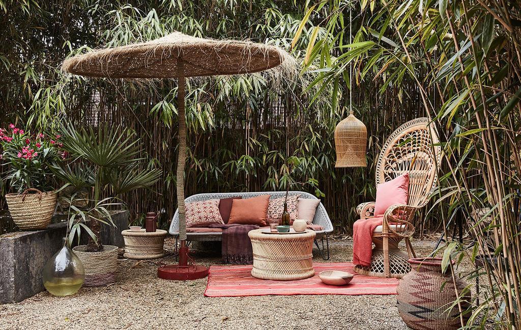 vtwonen 09-2016 | tropische loungeset met rotan